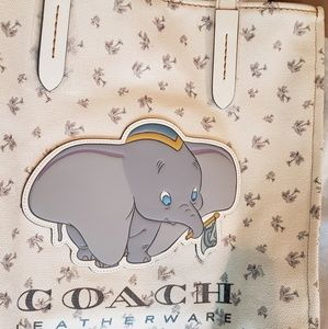 Limited edition Dumbo x Coach tote